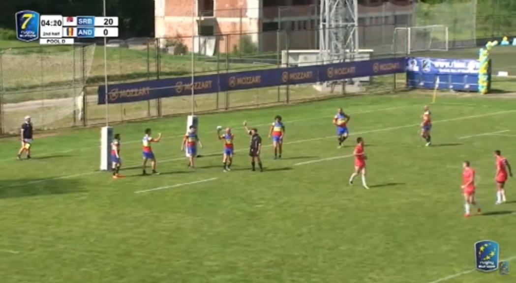 La selecció de rugbi de set ha acabat en 13a posici&oacute