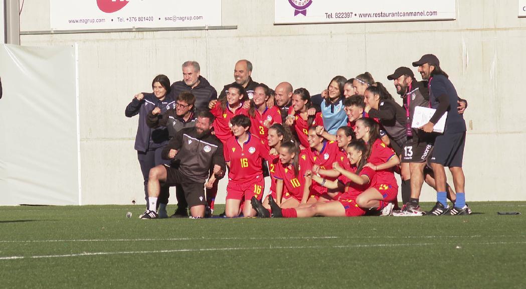 Andorra tanca el Preeuropeu sub-19 amb un triomf contra Moldàvia (1-0)