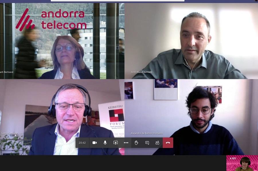 Andorra Telecom signa un acord amb Keiretsu Forum, una xarxa internacional d'inversors privats
