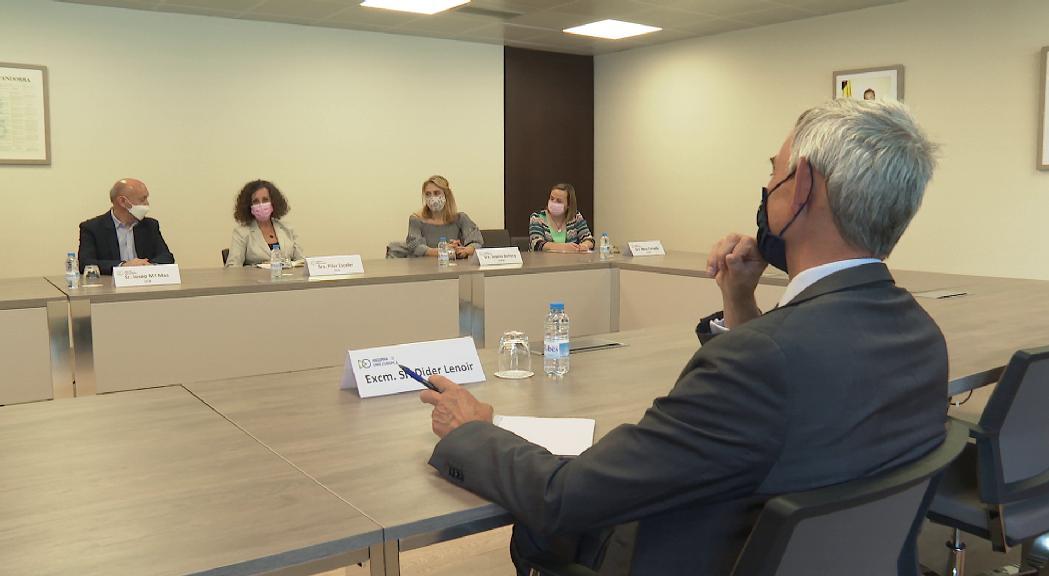 Andorra trasllada a l'ambaixador de la UE les necessitats per a l'acord d'associació