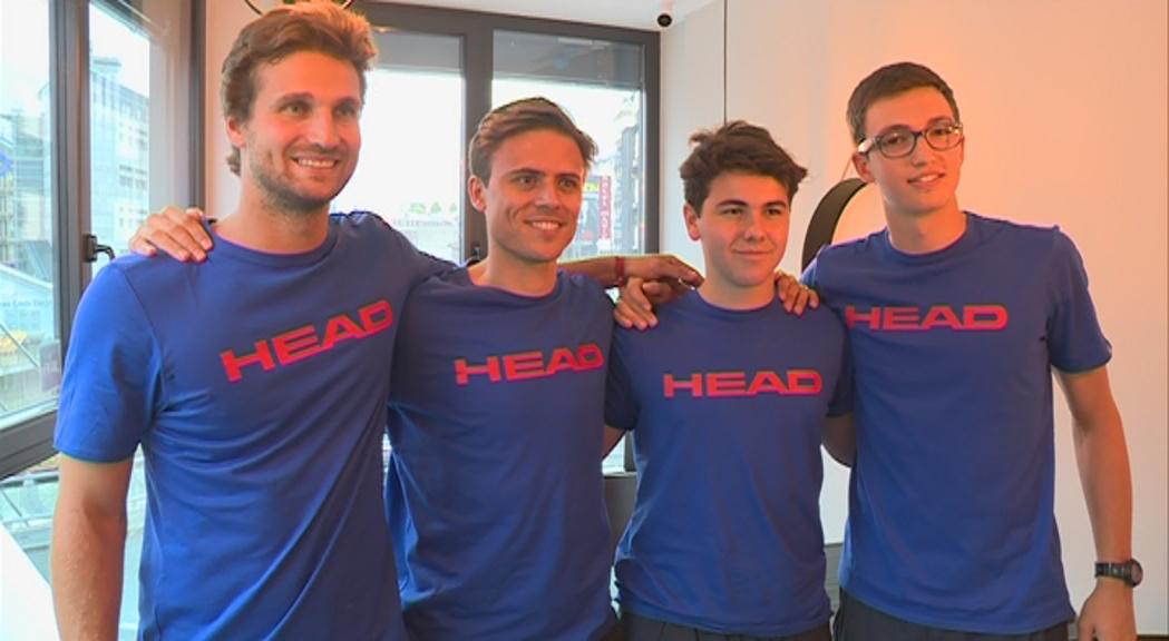 Andorra, amb tres lesionats, última classificada a la Copa Davis