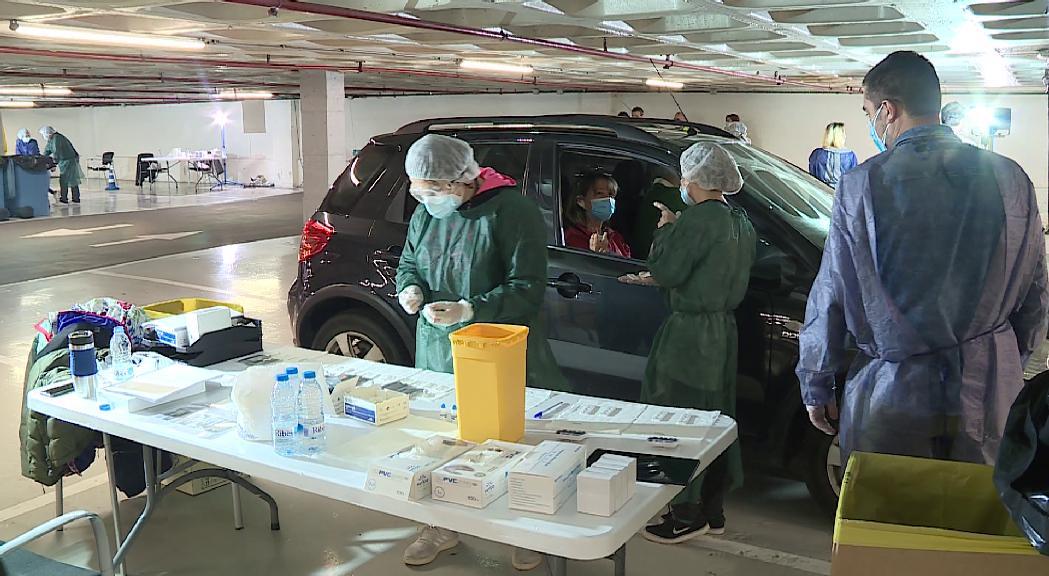 Andorra la Vella comença els tests d'anticossos a voluntaris i familiars