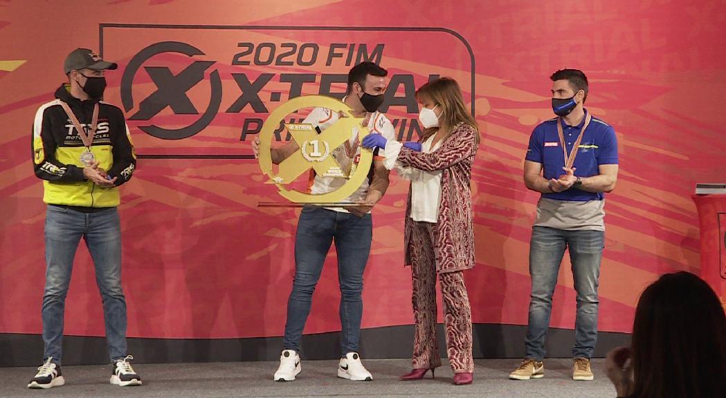 Andorra la Vella corona Toni Bou campió del món d'X-Trial per 14a vegada consecutiva i obre la porta a acollir més proves