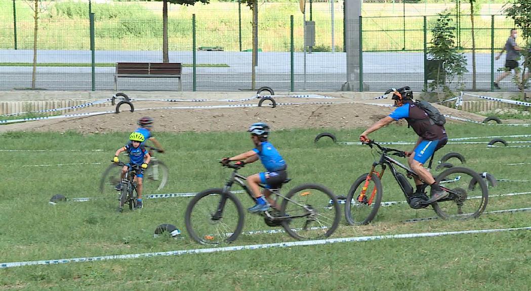 Andorra la Vella obre un nou espai per a la pràctica de la BTT i el ciclocròs