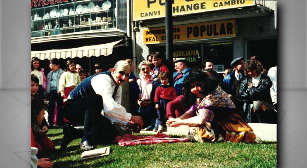 Andorra la Vella recorda el seu Ball de l'Ossa, que es va intentar recuperar als anys 80 sense èxit