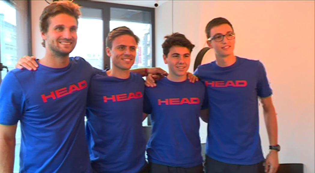 Andorra viatjarà a San Marino per disputar la Copa Davis amb un equip farcit de cares noves