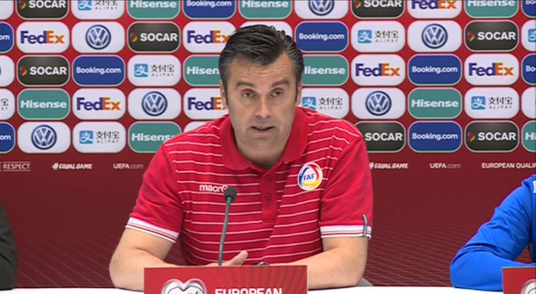 Andorra vol estar a l'alçada en la cita històrica contra França