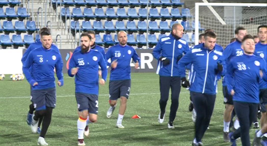 Andorra vol mantenir la bona imatge contra Islàndia a l'inici del Preeuropeu