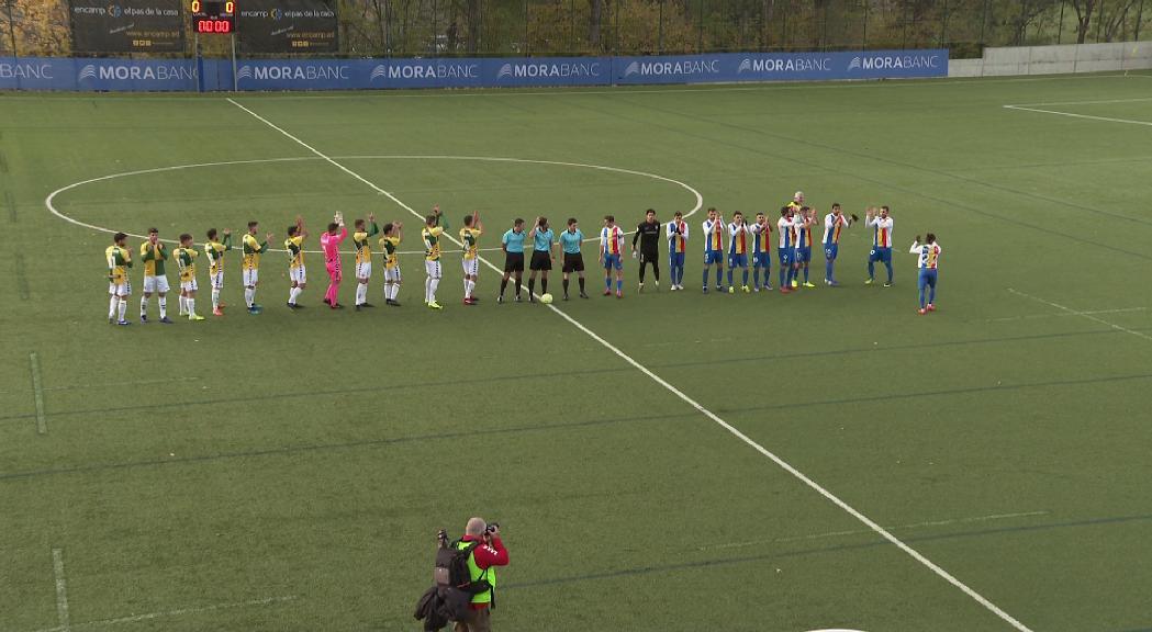 L'Andorra vol trencar la ratxa d'empats amb una victòria contra l'Ebro