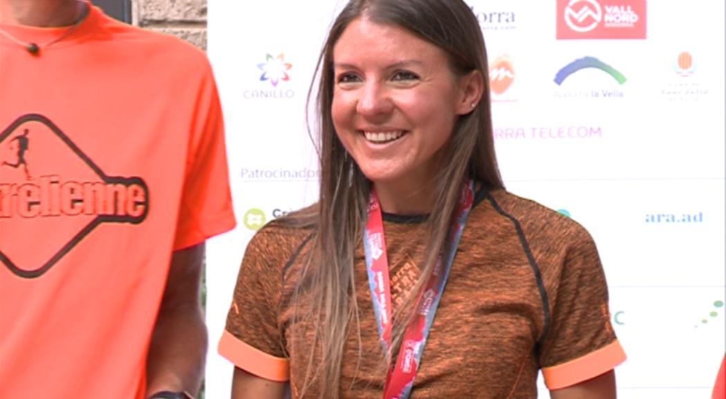 L'andorrana Sabrina Solana guanya la Mític de l'Andorra Ultra Trail
