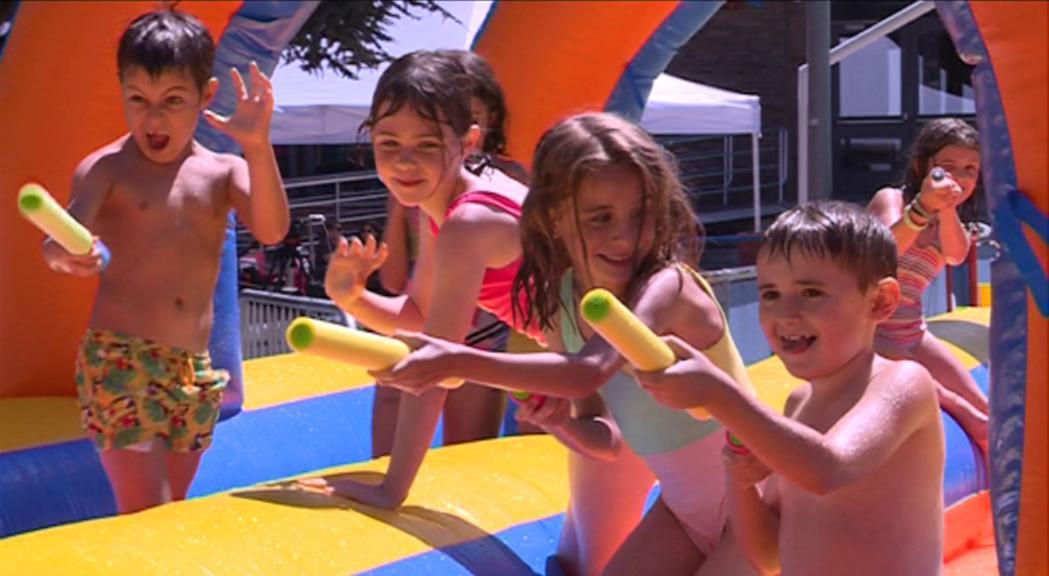 L'aquaparc del Joan Samarra serà gratuït del 27 d'agost al 1 de setembre