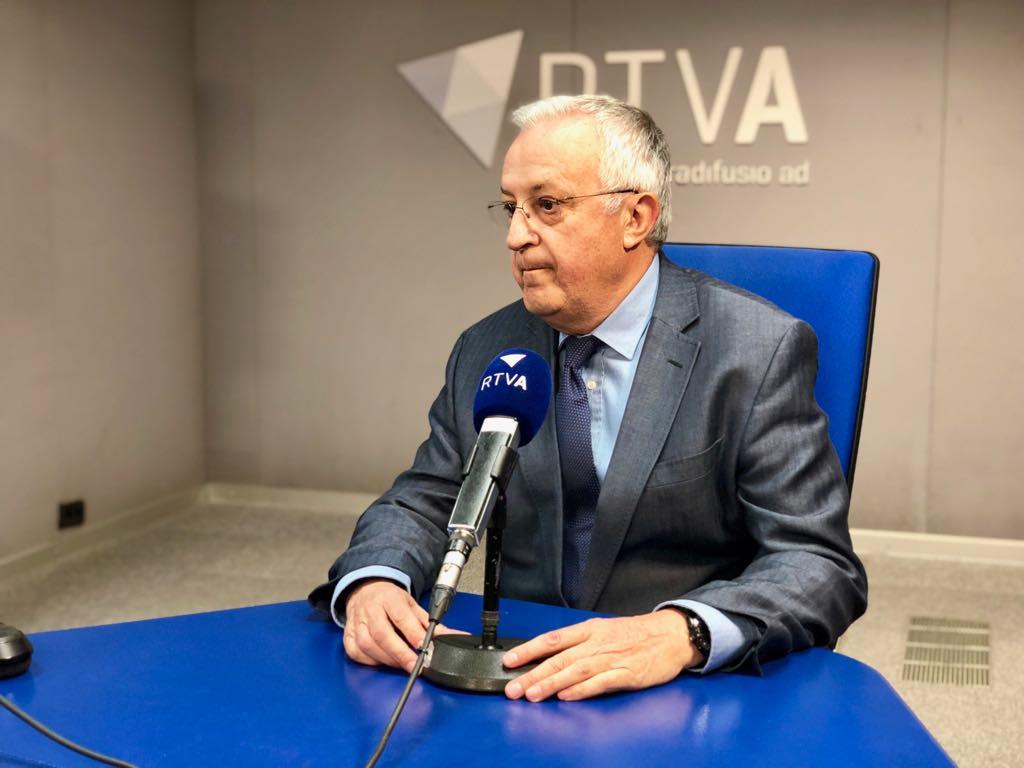 Armengol reclama solucions viàries per evitar l'aïllament del Pas i avança que l'informe per a l'aeroport nacional és favorable