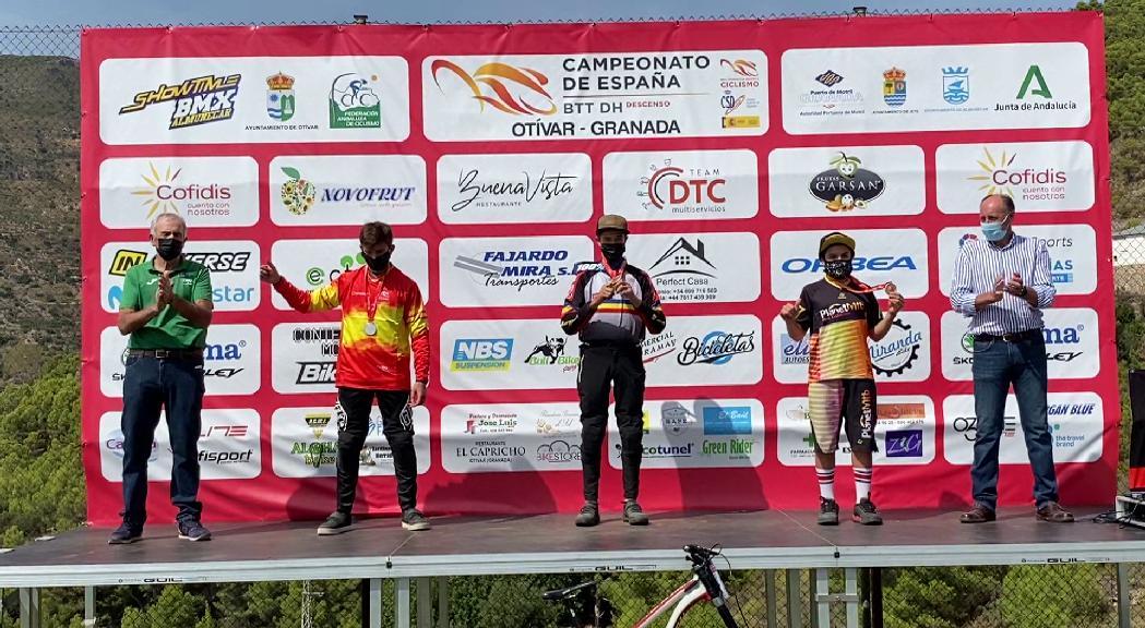 Arnau Graslub, campió d'Espanya de descens cadet i top-30 absolut