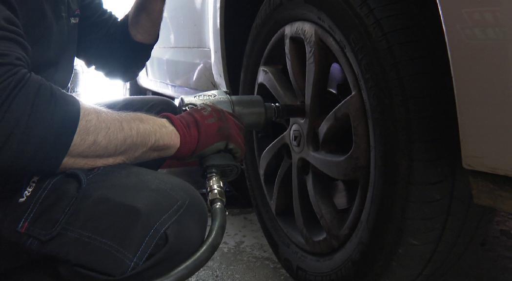 Arrenca l'obligatorietat de portar pneumàtics d'hivern o cadenes