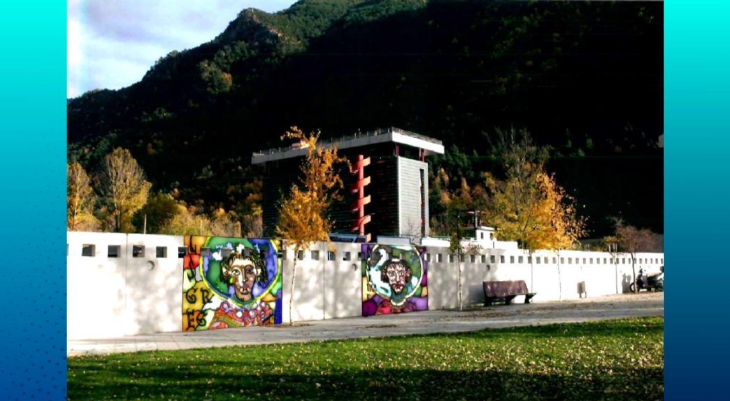 Art urbà per donar vida al mur que envolta l'Espai Columba