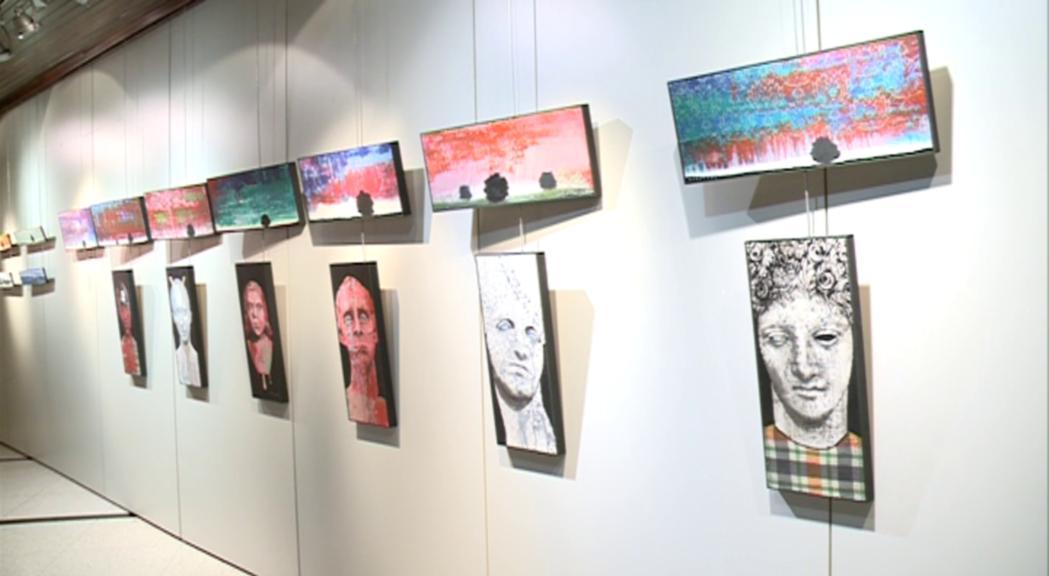 L'artista solsonès Aleix Albareda obre la temporada d'exposicions a Encamp