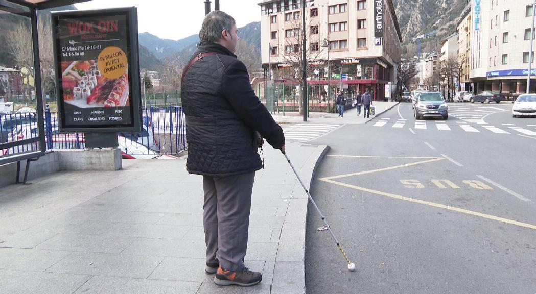 L'associació que representa les persones amb discapacitat visual i auditiva d'Andorra, en marxa