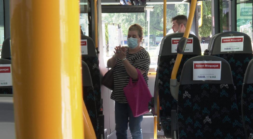 Els autobusos ampliaran l'ocupació màxima al 50% a partir d'aquest dijous
