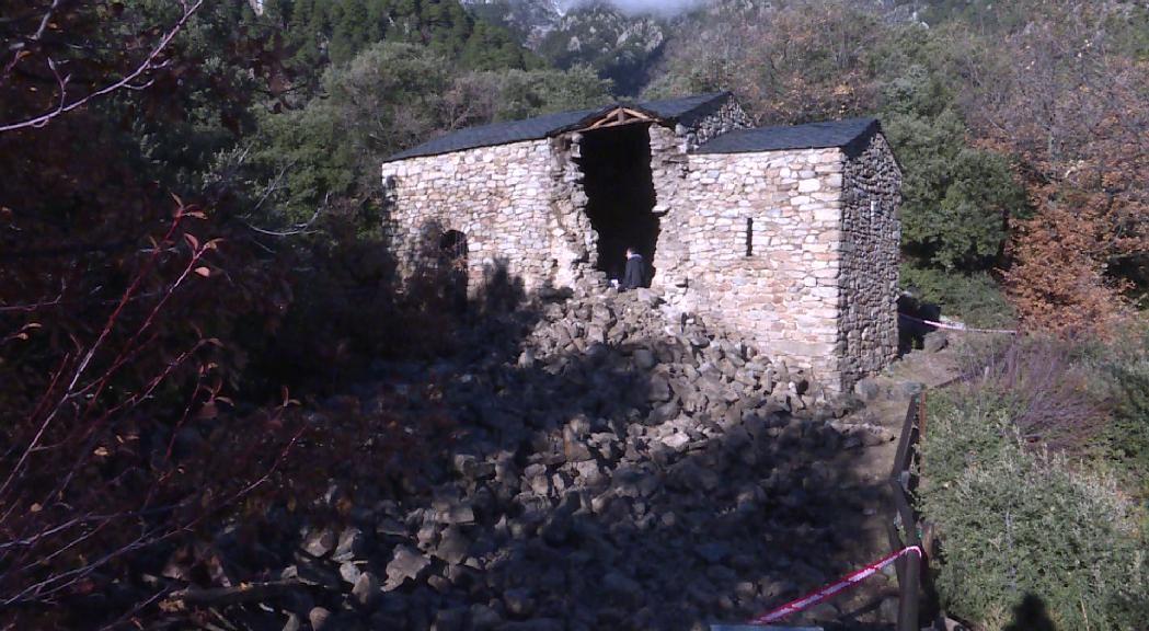 Avaluar l'estat del subsòl de Sant Vicenç d'Enclar, proper pas en la reconstrucció