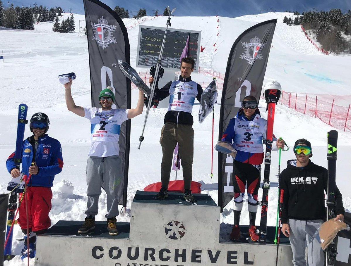 Àxel Esteve guanya el gegant FIS de Courchevel