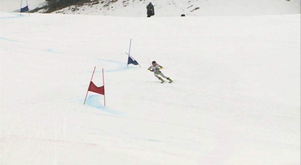 Àxel Esteve i Sissi Hinterreitner, vencedors en la darrera cita del Campionat d'Andorra