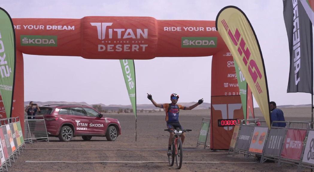 Balart i Caetano perden posicions però es mantenen en el top 100 a la Titan Desert