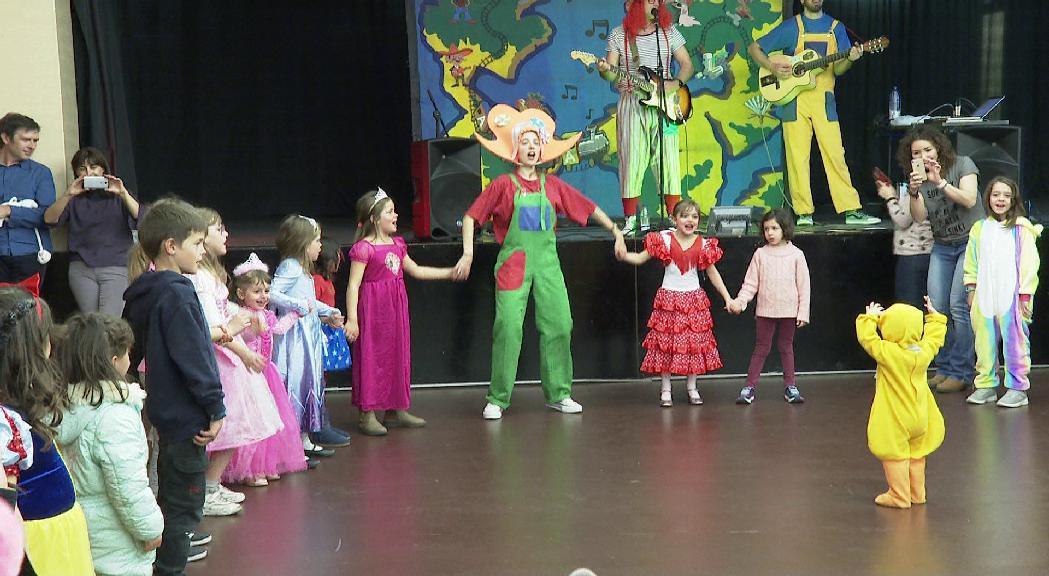 Ball infantil de disfresses al carnaval de Canillo