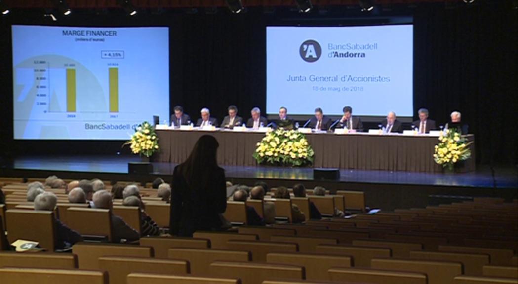 BancSabadell d'Andorra augmenta els beneficis un 2% el 2018