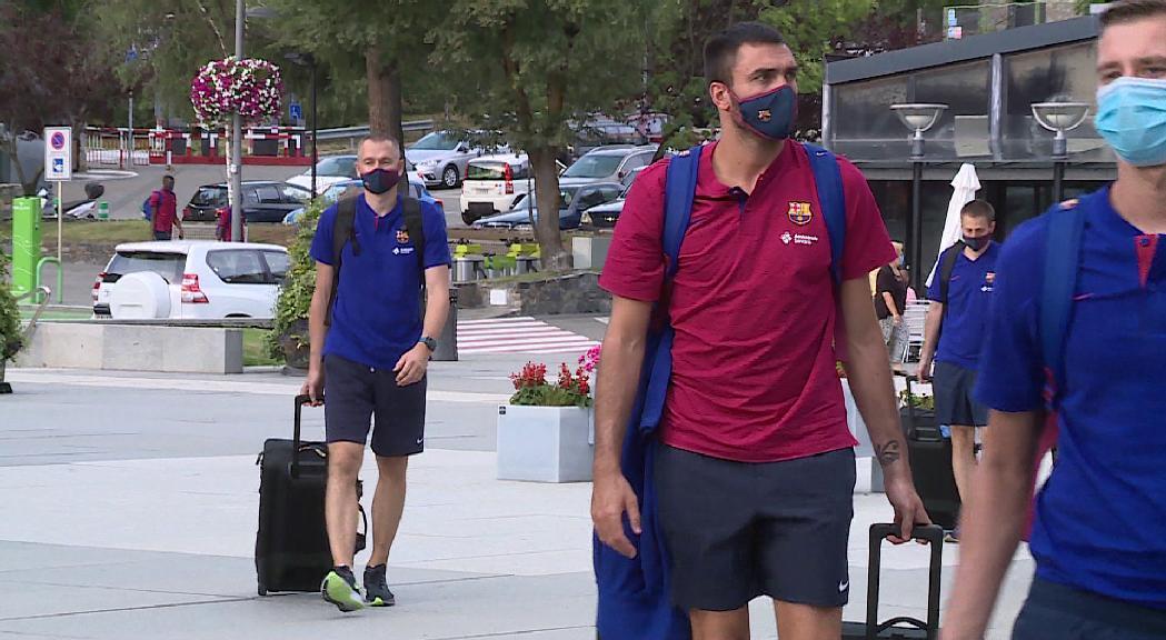 El Barça de bàsquet i el d'handbol tornen a Encamp a l'agost per l'estada de pretemporada