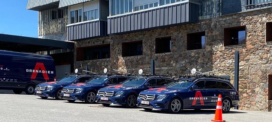 La base de l'Ineos s'entrena aquests dies a Andorra
