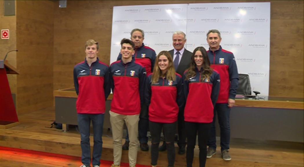 Batre rècords d'Andorra, principal objectiu de la delegació al Mundial de piscina curta a Hangzhou