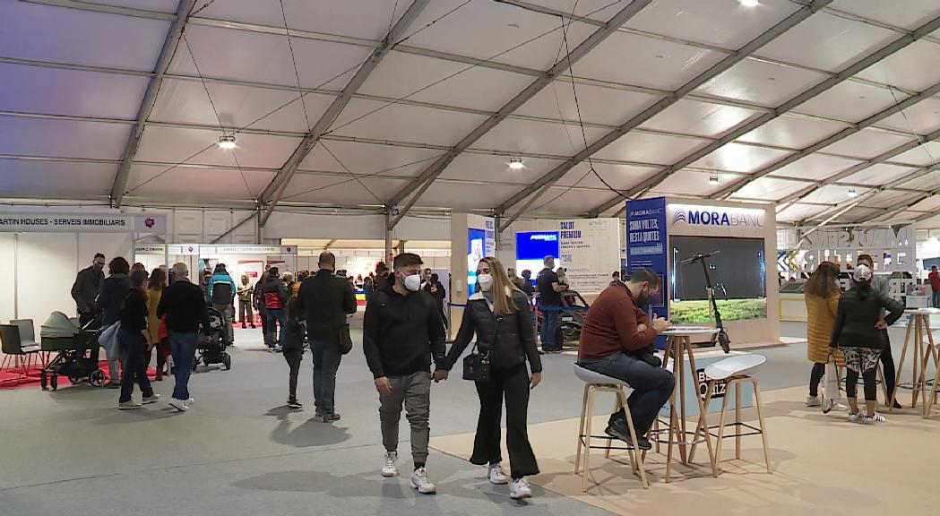 Bona afluència de públic en el segon dia de la Fira d'Andorra la Vella
