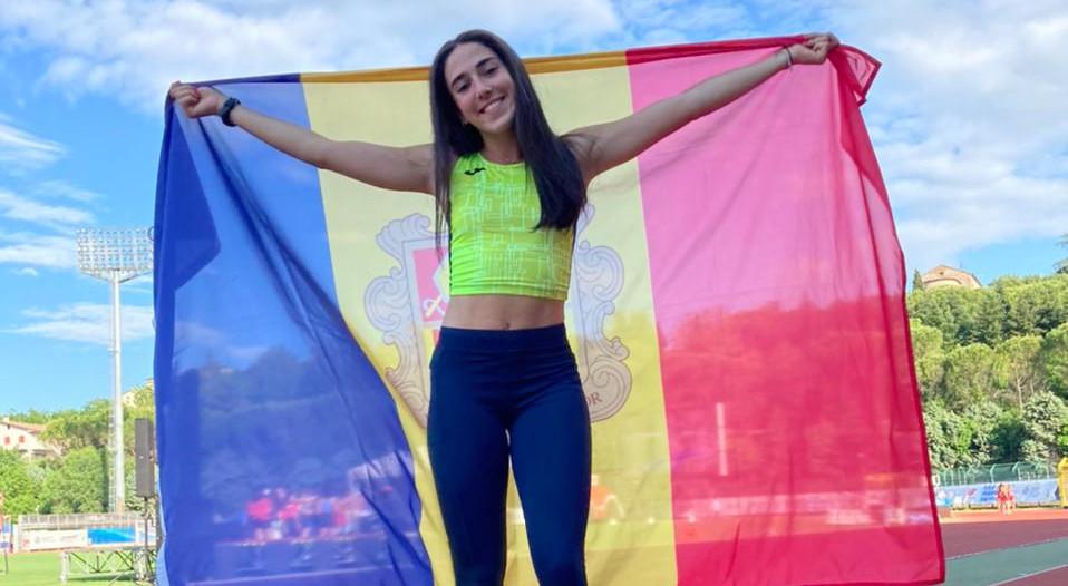 Bruna Luque rècord d'Andorra en els 400 metres tanques a San Marino