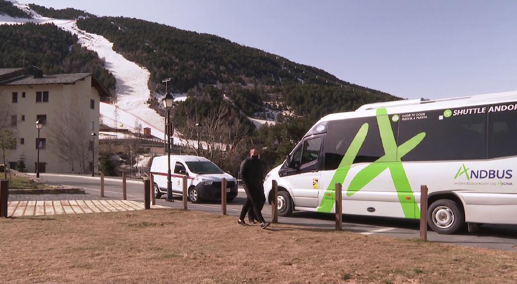 El bus a demanda de Canillo frega els 1.500 trajectes en el primer mes de servei