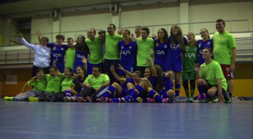 El cadet femení de l'ENFAF i els Special Olympics uneixen esforços