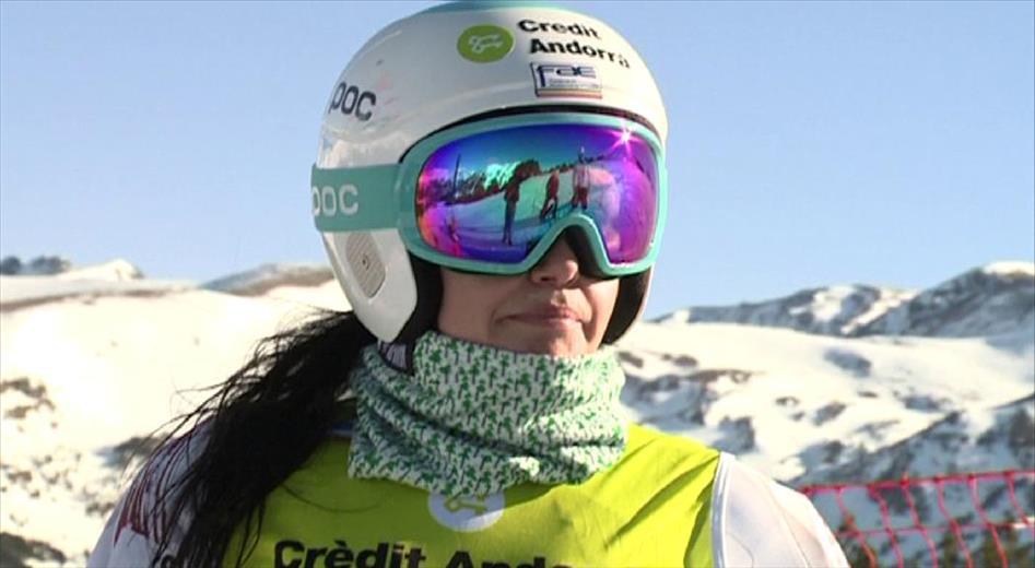 Males notícies per a Mireia Gutiérrez. L'esquia