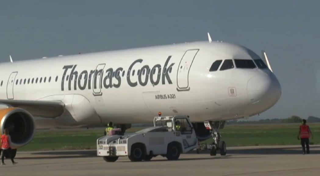 La caiguda de Thomas Cook fa que perillin la meitat d'operacions hivernals de l'aeroport d'Alguaire