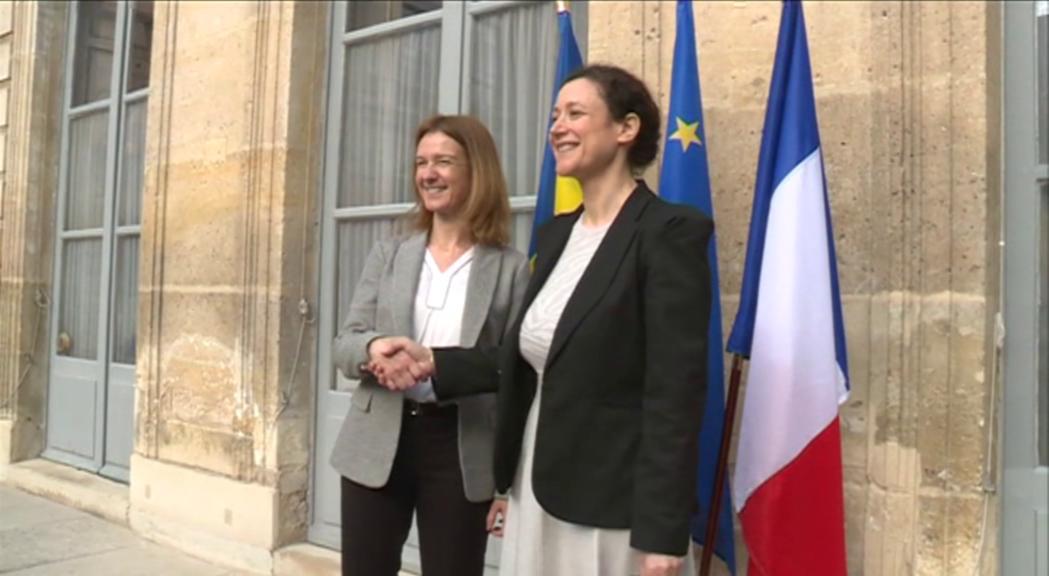Calvó coneix la transició ecològica i solidària francesa de la mà de la secretària d'estat Wargon