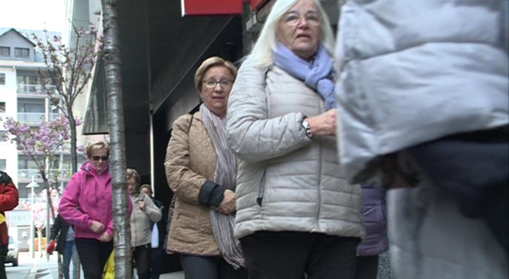 Caminada popular per promoure els hàbits saludables entre la gent gran