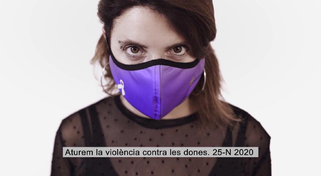 Campanya dels professionals públics i socials en suport de les més de 300 dones víctimes de violència de gènere i els seus 390 fills