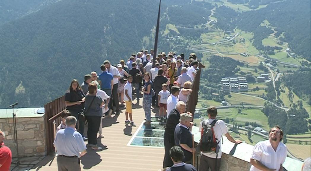 Canillo aposta pels seus paisatges completant la zona turística del roc del Quer amb dos ponts penjants