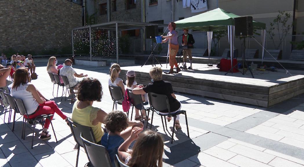 Canillo enceta les activitats infantils d'estiu amb el pallasso Xisclet