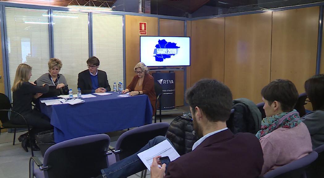 Canillo i Ordino obriran els debats electorals a ATV i RNA el 5 de desembre
