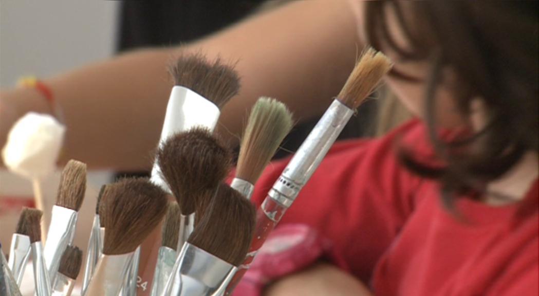 La Capsa proposa activitats perquè els infants deixin de banda les pantalles