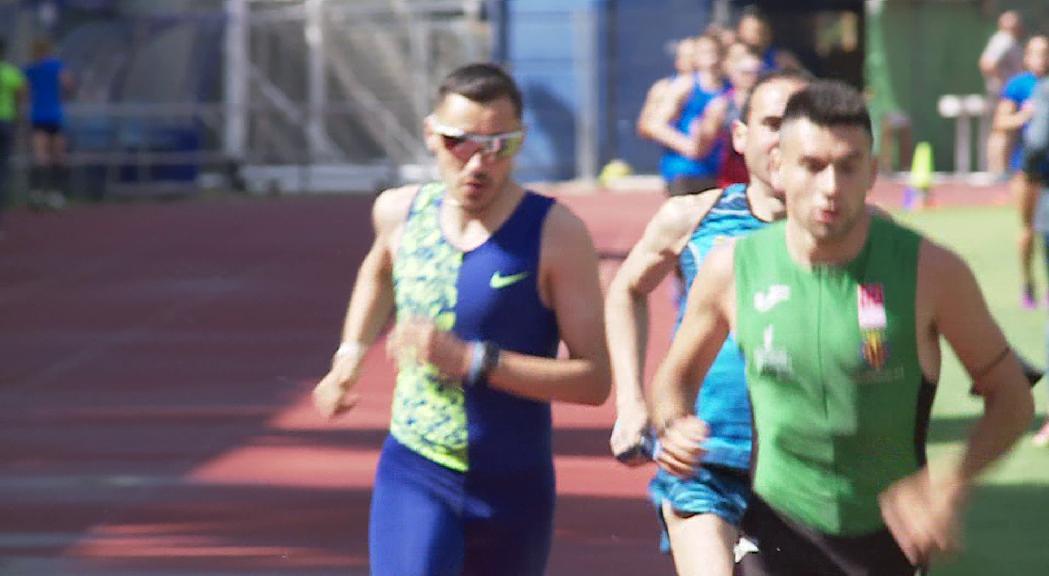 Carabaña i Mourelo, protagonistes en la segona jornada dels Nacionals d'atletisme
