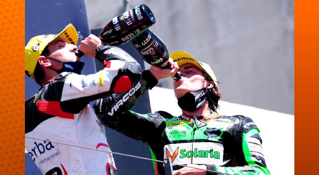 Cardelús frega la victòria a Portimaoi ja és tercer a l'Europeu de Moto2