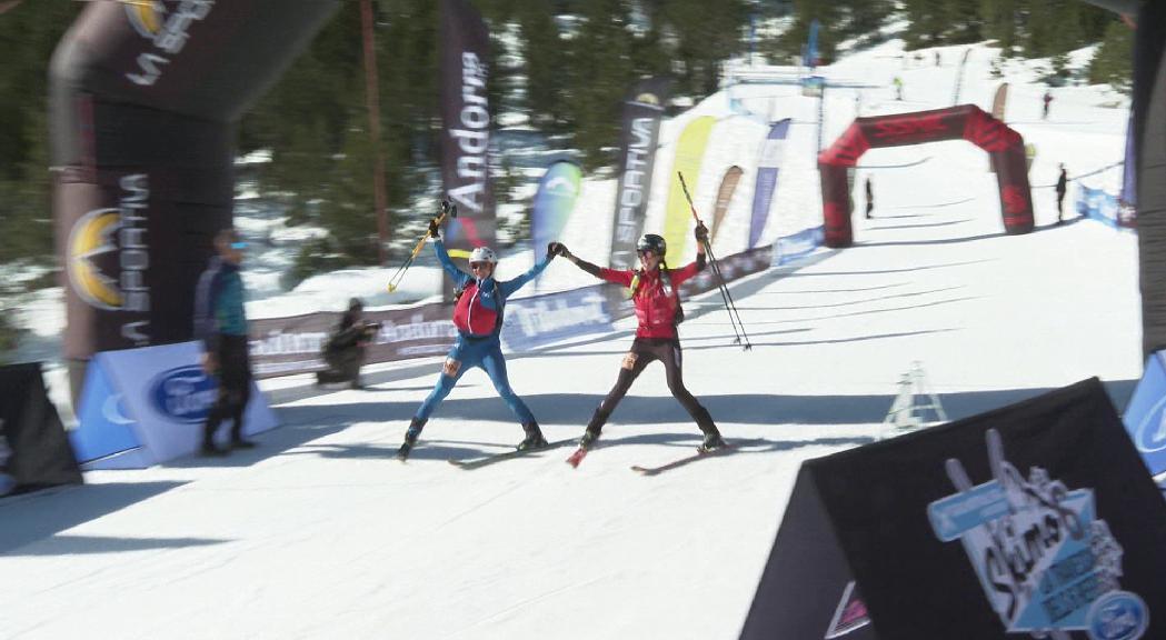 Cardona i Pinsach, en homes, i Quincoces i Alonso, en dones, dominen la 1a jornada de l'Skimo Andorra