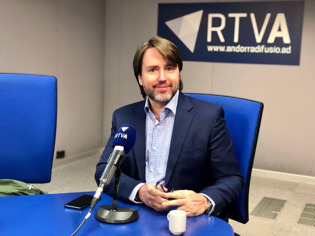 Carles Naudi celebra l'acord per mantenir el forfet conjunt de Vallnord