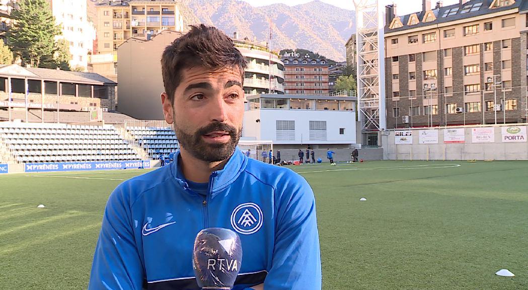 Carlos Martínez apunta al control de les àrees per a la millora de l'FC Andorra