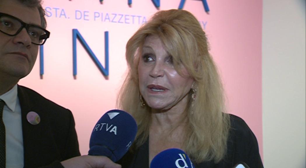 """Carmen Cervera destaca el reconeixement internacional al museu en la inauguració de """"Femina feminae"""""""